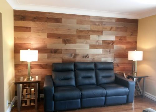 Barn Board Accent Wall