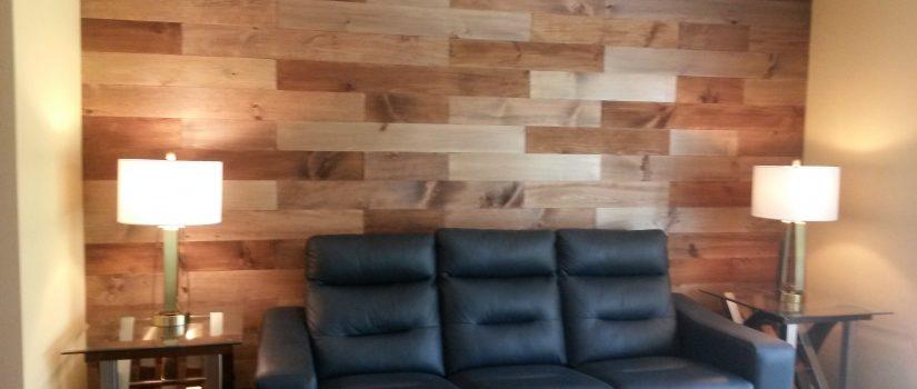 Barn Board Accent Wall